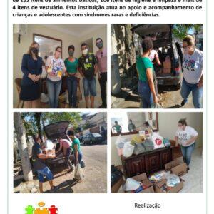 Igreja Messiânica Mundial do Brasil faz doação à Associação Luz de Sophia